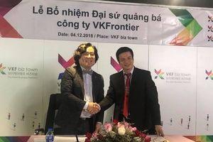Diễn viên Lê Bá Anh trở thành Đại sứ quảng bá văn hóa Việt Nam và Hàn Quốc