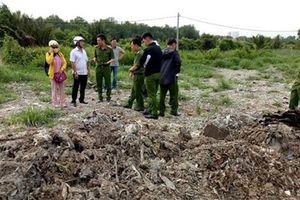 Cơ quan Công an vào cuộc vụ dùng rác thải san lấp mặt bằng