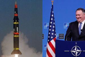 Mỹ 'cho' Nga 60 ngày để tuân thủ trở lại INF
