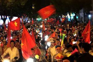 1.500 cảnh sát chống đua xe sau trận bán kết AFF Cup của tuyển VN