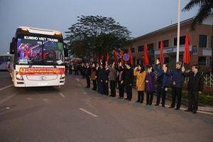 LĐLĐ TP. Hà Nội hỗ trợ 1.500 vé xe miễn phí đưa CNLĐ về quê đón Tết