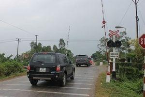 Đường sắt đề nghị lắp thiết bị hỗ trợ cảnh báo đường ngang tự mở
