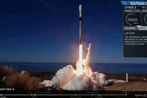 Mỹ phóng thành công Falcon 9 sau quyết định nóng
