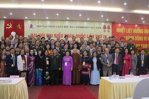 Thượng tướng Nguyễn Văn Rinh tiếp tục được bầu làm Chủ tịch Hội Nạn nhân chất độc da cam/dioxin nhiệm kỳ 2018-2023