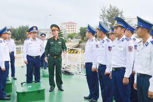 Bộ Quốc phòng kiểm tra công tác quân sự, quốc phòng tại Bộ Tư lệnh Vùng Cảnh sát biển 2