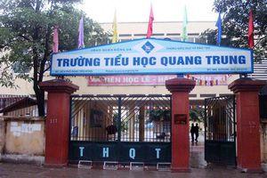 Bộ GD&ĐT lên tiếng vụ cô giáo phạt học sinh ở Trường tiểu học Quang Trung
