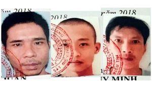Truy nã đặc biệt 3 đối tượng trốn trại phạm tội ma túy, giết người