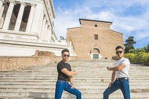 Quốc Cơ, Quốc Nghiệp chính thức xác lập kỷ lục Guinness Thế giới tại Italy