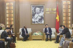 Tiếp tục đẩy mạnh mối quan hệ hợp tác tốt đẹp giữa Việt Nam – Singapore