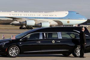 Cadillac XTS đưa linh cữu cố Tổng thống Bush 'cha' đến Điện Capitol