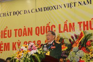 Thượng tướng Nguyễn Văn Rinh tái cử Chủ tịch Hội Nạn nhân chất độc da cam/dioxin nhiệm kỳ 2018-2023