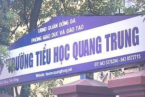 Hà Nội: Yêu cầu xác minh thông tin cô giáo cho học sinh tát bạn 50 cái