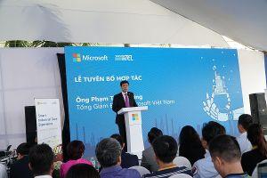 Microsoft Việt Nam, SAIGONTEL và Tech Data hợp tác chiến lược
