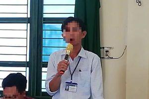 Vụ nữ phụ huynh xúc phạm thầy giáo chỉ vì mất chiếc quần short của con: Gia đình chính thức xin lỗi giáo viên
