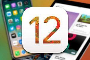 70% iPhone, iPad và iPod Touch đã nâng cấp lên iOS 12