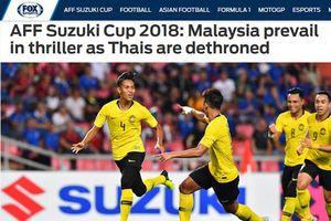 Fox Sports: Malaysia vào chung kết sau trận cầu kinh dị