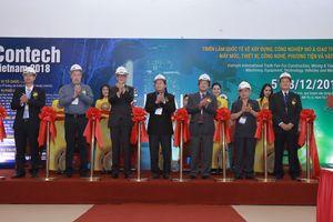 Khai mạc triển lãm Contech Vietnam 2018
