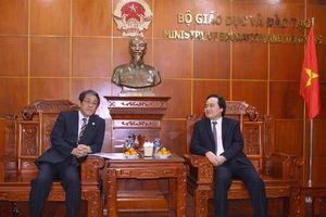 Tăng cường hợp tác giáo dục với Nhật Bản
