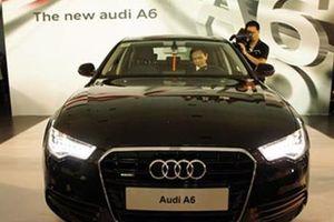 Audi Việt Nam triệu hồi hơn 100 xe A6 do lỗi túi khí