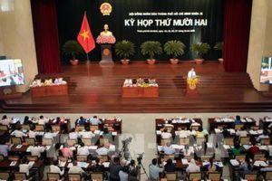 Lấy phiếu tín nhiệm 30 người có chức danh do HĐND TP Hồ Chí Minh bầu