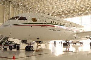 Tổng thống Mexico rao bán chuyên cơ hơn 200 triệu USD, đi máy bay thương mại