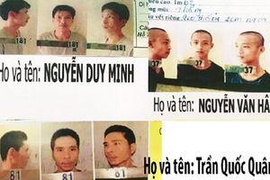 3 phạm nhân khoét tường trốn khỏi trại tạm giam ở Kiên Giang