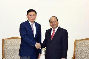 Thủ tướng đề nghị Lotte thành lập quỹ khởi nghiệp ở Việt Nam