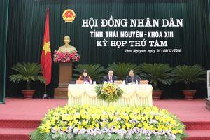 Thái Nguyên: Khai mạc kỳ họp thứ 8, HĐND tỉnh khóa XIII