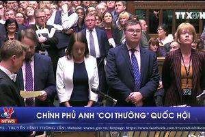 Chính phủ Anh 'coi thường' Quốc hội
