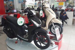 Những mẫu xe tay ga của Honda Việt Nam được trang bị khóa Smartkey