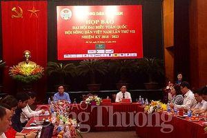 Sắp diễn ra Đại hội đại biểu toàn quốc Hội Nông dân Việt Nam nhiệm kỳ 2018-2023