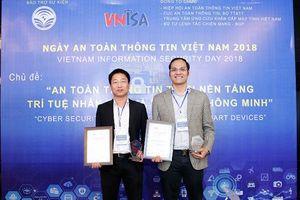 CMC nhận 3 giải thưởng tại triển lãm Ngày An toàn thông tin Việt Nam 2018