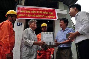EVN Hà Nội đẩy mạnh công tác chăm sóc khách hàng