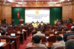 Phó Chủ tịch Quốc hội Đỗ Bá tỵ dự khai mạc kỳ họp Hội đồng nhân dân tỉnh Điện Biên