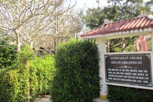 Nơi lưu giữ tuổi thơ của Bác Hồ ở Huế
