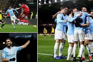Watford 1-2 Man City: Cuộc dạo chơi của thầy trò HLV Pep Guardiola