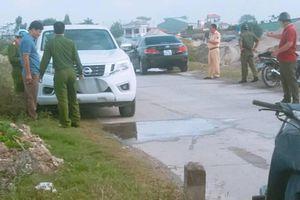 Xác định nguyên nhân thượng úy công an chết trong xe ô tô ở Nam Định