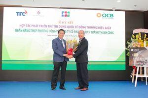 Ra mắt thẻ tín dụng quốc tế đồng thương hiệu OCB TTC Hospitality JCB Platinum