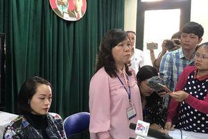 Họp báo vụ học sinh bị tát, hiệu trưởng khẳng định: 'Dù con lãnh đạo nào, nếu sai đến đâu sẽ xử lý đến đó'