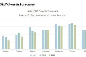 Chiến tranh thương mại có thể khiến tăng trưởng GDP của Đông Nam Á chậm lại