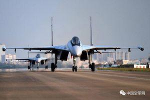 Trung Quốc để lộ vị trí triển khai tiêm kích Su-35SK tại chiến khu Nam