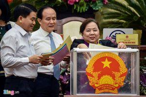 Chủ tịch Hà Nội chỉ nhận 4 phiếu tín nhiệm thấp