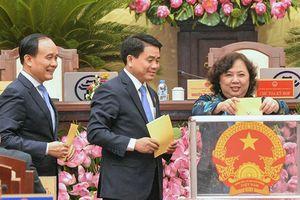 Hà Nội lấy phiếu 36 lãnh đạo chủ chốt