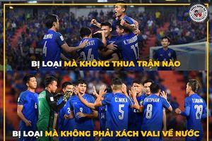 Loạt ảnh chế Thái Lan tránh tuyển Việt Nam ở chung kết AFF Cup 2018