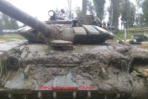 Sự cố đáng tiếc khi T-72B3 thử nghiệm lặn