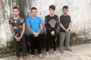 Khởi tố bốn đối tượng bắt giữ người trái phép ở Thanh Hóa