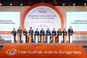 Khánh thành Nhà máy sản xuất động cơ máy bay tại KCN cao Hòa Lạc