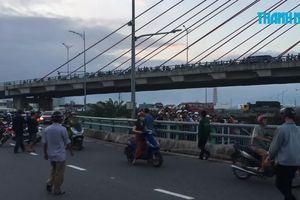 Người phụ nữ bị xe tải tông chết tại cầu vượt Ngã Ba Huế
