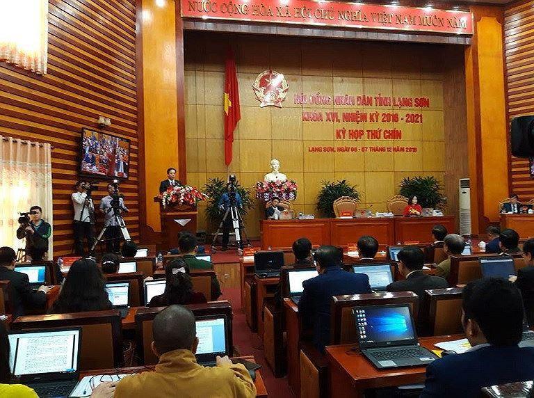 Miễn nhiệm Phó chủ tịch UBND tỉnh Lạng Sơn