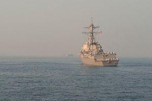 Tàu chiến Mỹ thách thức Nga trên biển Nhật Bản